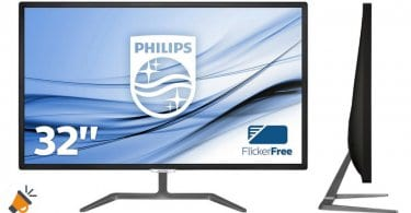 oferta monitor philips 323E7QDAB00 barato chollo amazon SuperChollos