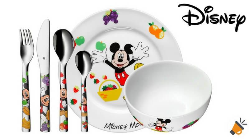 oferta WMF Disney Mickey Mouse Vajilla para nin%CC%83os barata SuperChollos