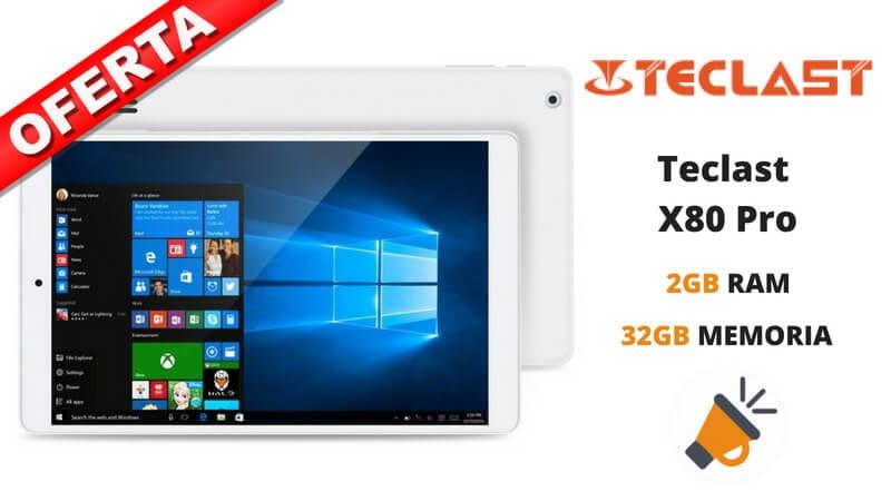 oferta tablet Teclast X80 Pro barata chollo amazon SuperChollos