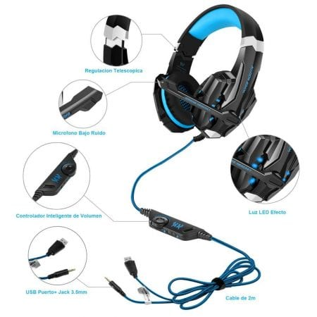 Auriculares Gaming VersionTech SuperChollos
