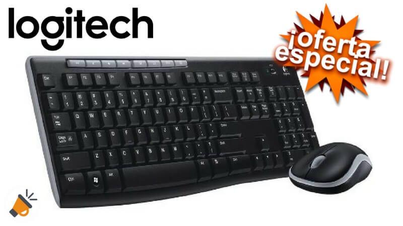 oferta Logitech MK270 Pack de teclado y rato%CC%81n barato SuperChollos