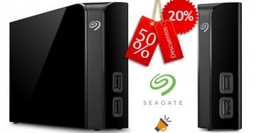 chollo disco duro Seagate Backup Plus Hub 6tb barato SuperChollos