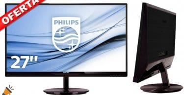 oferta monitor Philips 274E5QHSB barato chollo amazon SuperChollos