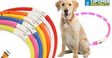 oferta collar led para perro barato SuperChollos