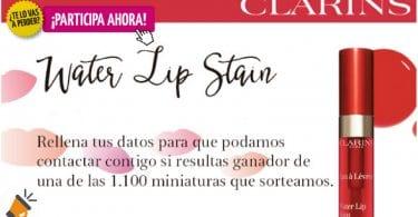 oferta Clarins regala 1.100 miniaturas de labiales SuperChollos