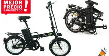 oferta FOLLOW UP FollowUp E05 Bicicleta ele%CC%81ctrica barata SuperChollos