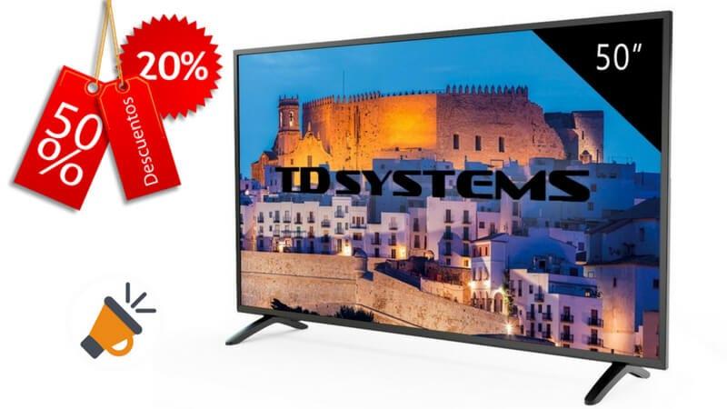 oferta HD TD Systems K50DLM8F barata SuperChollos