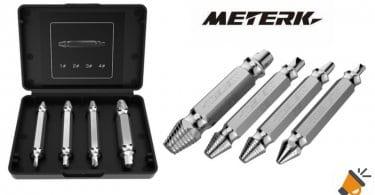oferta Meterk MK24 extractor de tornillos barato SuperChollos