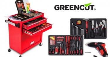 oferta Greencut TOOLS 881 Set de herramientas bararo SuperChollos