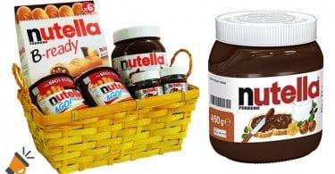 oferta Cesta de Pascua con Nutella barata SuperChollos