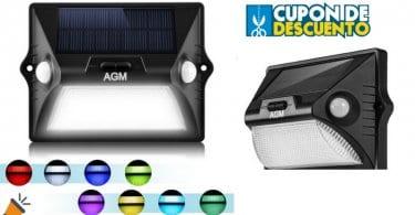 oferta AGM La%CC%81mpara Solar barata SuperChollos