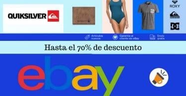 oferta 70 QuickSilver en eBay SuperChollos