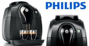 oferta Philips Serie 2000 HD865001 Ma%CC%81quina de cafe%CC%81 espresso barata SuperChollos
