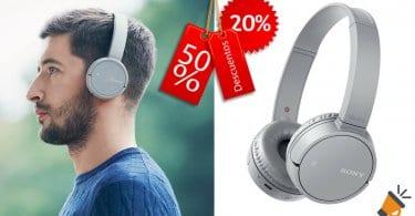 oferta auriculares inalambricos Sony WHCH500H baratos SuperChollos
