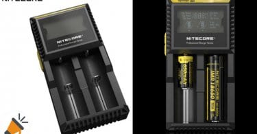 oferta cargador de pilas Nitecore D2 barato SuperChollos