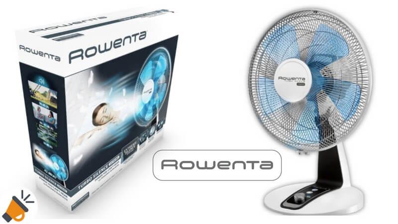 oferta ventilador Rowenta Tubro silence 70W barato SuperChollos