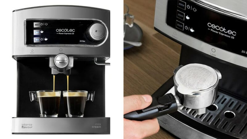 oferta cafetera Cecotec Power Espresso 20 barata SuperChollos