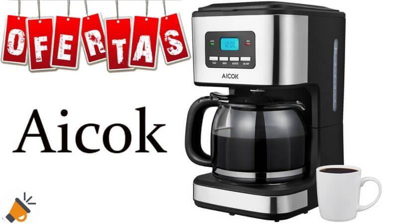 oferta Aicok Cafetera Cafetera Goteo barata SuperChollos