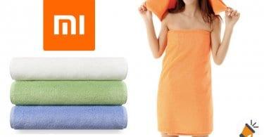 oferta toallas xiaomi baratas SuperChollos