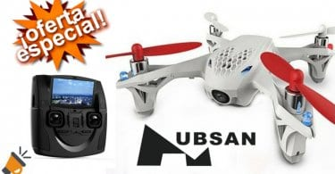 OFERTA Drone Quadcopter Hubsan X4 H107D barato SuperChollos