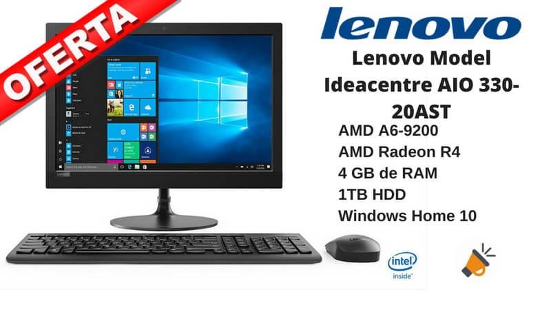 oferta Lenovo Model Ideacentre AIO 330 20AST barato SuperChollos