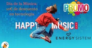 dia de la musica energy system SuperChollos