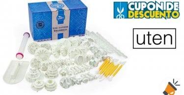 oferta uten kit 68 accesorios para reposteria barato SuperChollos