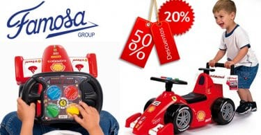 oferta Famosa FEBER 800004888 Correpasillos barato SuperChollos