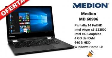 oferta Medion MD 60996 Ordenador porta%CC%81til barato SuperChollos