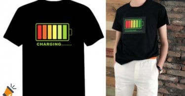 oferta Camiseta LED barata SuperChollos