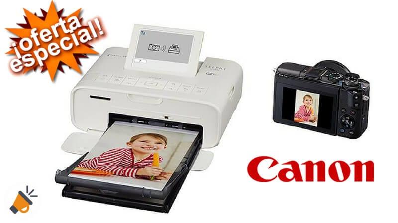 oferta Canon Selphy CP1300 Impresora fotogra%CC%81fica inala%CC%81mbrica barata SuperChollos