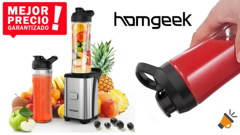 oferta Homgeek Mini Batidora Electrica barata SuperChollos