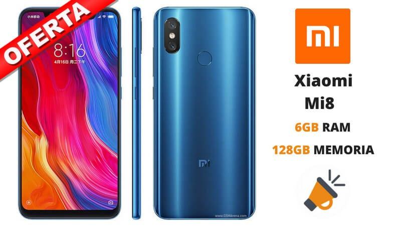 oferta Xiaomi Mi8 barato SuperChollos