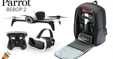 OFERTA Parrot Bebop 2 Adventurer Dron cuadrico%CC%81ptero barato SuperChollos