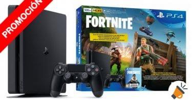 oferta PS4 SLIM 500GB PLAYSTATION 4 JUEGO DIGITAL FORTNITE barata SuperChollos