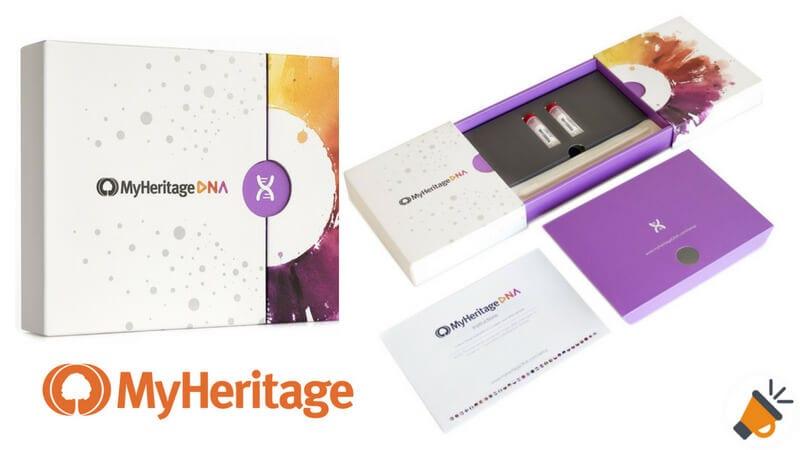oferta Kit de pruebas de ascendencia de MyHeritage DNA barato SuperChollos