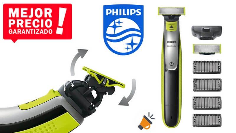 oferta Philips OneBlade QP253030 Recortador de barba barato SuperChollos