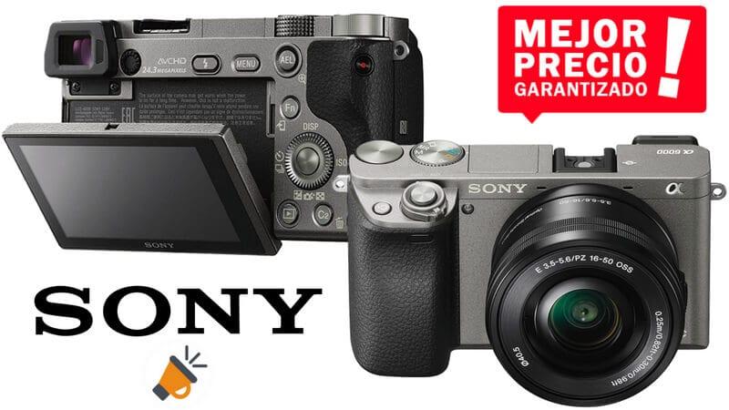 oferta Sony Alpha 6000 Sistema Ca%CC%81mara barata SuperChollos