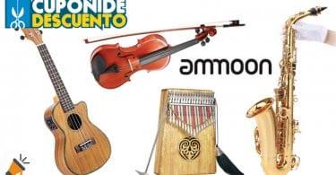 oferta ammoon instrumentos musicales baratos SuperChollos
