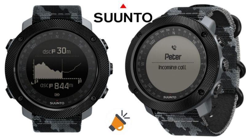 oferta Suunto Traverse Alpha SS023446000 Reloj GPS barato SuperChollos