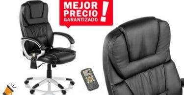 oferta Silla oficina masaje y calefaccio%CC%81n mchaus barata SuperChollos