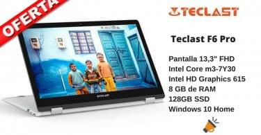 OFERTA portatil Teclast F6 Pro barato SuperChollos