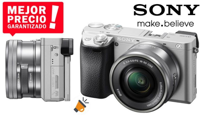 oferta Sony Alpha A6300 Ca%CC%81mara compacta barata SuperChollos