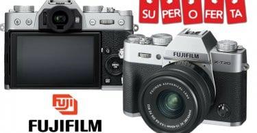 oferta Fujifilm X T20 Kit de Ca%CC%81mara Evil barato SuperChollos