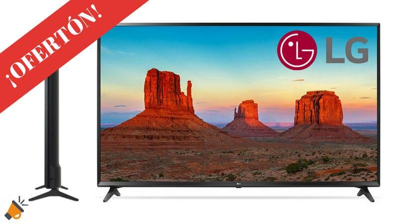 OFERTA SMART TV LG 55UK6100PLB BARATA SuperChollos
