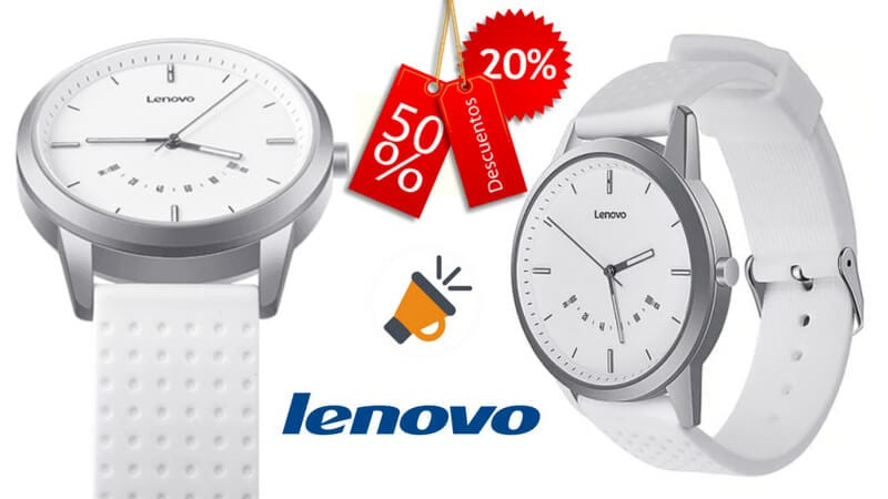 oferta Lenovo Watch 9 Bluetooth Smartwatch barato SuperChollos