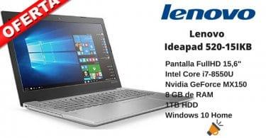 oferta Lenovo Ideapad 520 15IKB barato SuperChollos