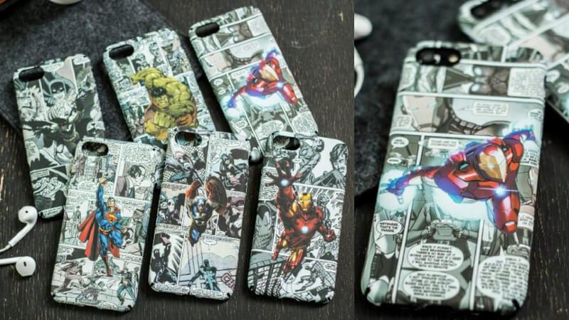 OFERTA Fundas para iPhone de superhe%CC%81roes Marvel y DC baratas SuperChollos