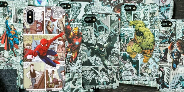 Fundas para iPhone de superhe%CC%81roes Marvel y DC SuperChollos