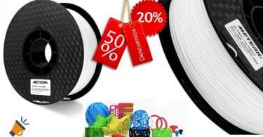 oferta Filamento PLA 3d Meterk Material de impresio%CC%81n 3D barato SuperChollos